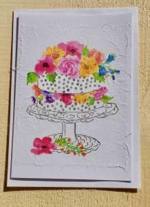 Mit Blumen 10,4X14,6 ( C6 ) Mit Couvert Innenblatt Fr. 6.00